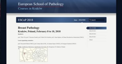 ESCoP – breast cancer. Krakow 2018