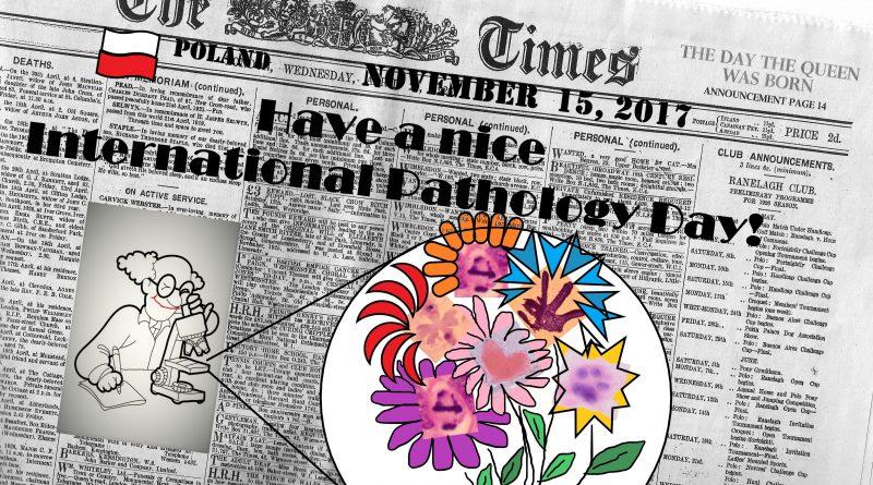 Międzynarodowy Dzień Patologa
