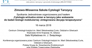 kolejny kurs cyfrowej cytologii tarczycy w Gliwicach