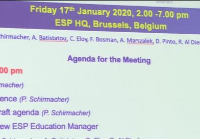 posiedzenie komitetu edukacyjnego ESP