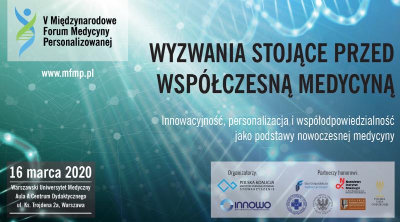 V Forum Medycyny Personalizowanej